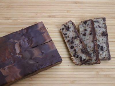 Banankage med chokolade
